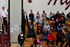 CIAC G. Volleyball; Farmington 3 vs. Hartford Public 0 - Photo # 640