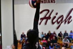 CIAC G. Volleyball; Farmington 3 vs. Hartford Public 0 - Photo # 642