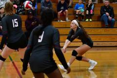 CIAC G. Volleyball; Farmington 3 vs. Hartford Public 0 - Photo # 644