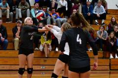 CIAC G. Volleyball; Farmington 3 vs. Hartford Public 0 - Photo # 648