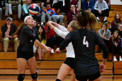 CIAC G. Volleyball; Farmington 3 vs. Hartford Public 0 - Photo # 649