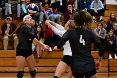 CIAC G. Volleyball; Farmington 3 vs. Hartford Public 0 - Photo # 649