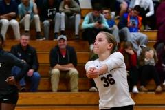 CIAC G. Volleyball; Farmington 3 vs. Hartford Public 0 - Photo # 667