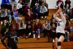 CIAC G. Volleyball; Farmington 3 vs. Hartford Public 0 - Photo # 673
