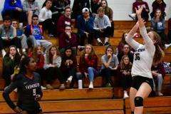 CIAC G. Volleyball; Farmington 3 vs. Hartford Public 0 - Photo # 673