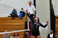 CIAC G. Volleyball; Farmington 3 vs. Hartford Public 0 - Photo # 685