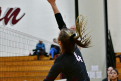 CIAC G. Volleyball; Farmington 3 vs. Hartford Public 0 - Photo # 691