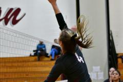 CIAC G. Volleyball; Farmington 3 vs. Hartford Public 0 - Photo # 691
