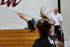 CIAC G. Volleyball; Farmington 3 vs. Hartford Public 0 - Photo # 692