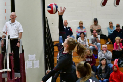 CIAC G. Volleyball; Farmington 3 vs. Hartford Public 0 - Photo # 697