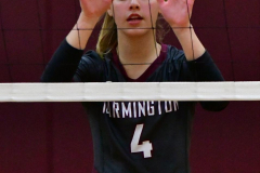 CIAC G. Volleyball; Farmington 3 vs. Hartford Public 0 - Photo # 706
