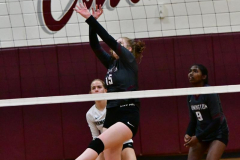 CIAC G. Volleyball; Farmington 3 vs. Hartford Public 0 - Photo # 715