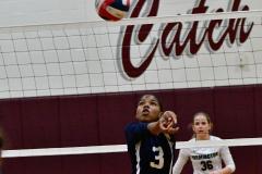 CIAC G. Volleyball; Farmington 3 vs. Hartford Public 0 - Photo # 721