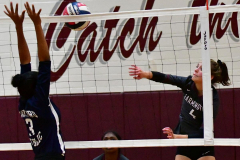 CIAC G. Volleyball; Farmington 3 vs. Hartford Public 0 - Photo # 741