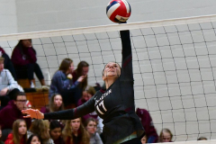 CIAC G. Volleyball; Farmington 3 vs. Hartford Public 0 - Photo # 749