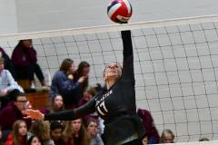 CIAC G. Volleyball; Farmington 3 vs. Hartford Public 0 - Photo # 749