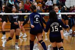 CIAC G. Volleyball; Farmington 3 vs. Hartford Public 0 - Photo # 760