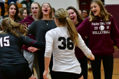 CIAC G. Volleyball; Farmington 3 vs. Hartford Public 0 - Photo # 764
