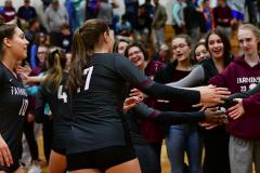 CIAC G. Volleyball; Farmington 3 vs. Hartford Public 0 - Photo # 770
