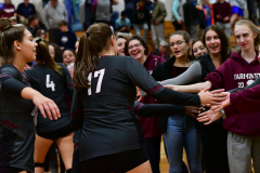 CIAC G. Volleyball; Farmington 3 vs. Hartford Public 0 - Photo # 771
