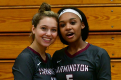 CIAC G. Volleyball; Farmington 3 vs. Hartford Public 0 - Photo # 793