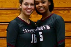 CIAC G. Volleyball; Farmington 3 vs. Hartford Public 0 - Photo # 796