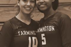 CIAC G. Volleyball; Farmington 3 vs. Hartford Public 0 - Photo # 800