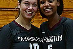 CIAC G. Volleyball; Farmington 3 vs. Hartford Public 0 - Photo # 801