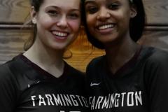 CIAC G. Volleyball; Farmington 3 vs. Hartford Public 0 - Photo # 802