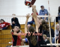 CIAC Girls Volleyball Focused on Farmington 3 vs. Conard 0 - Photo# (130)