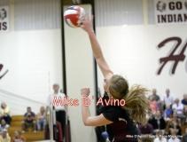 CIAC Girls Volleyball Focused on Farmington 3 vs. Conard 0 - Photo# (135)