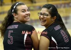 CIAC Girls Volleyball Focused on Farmington 3 vs. Conard 0 - Photo# (138)
