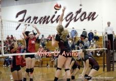 CIAC Girls Volleyball Focused on Farmington 3 vs. Conard 0 - Photo# (139)