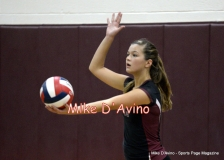 CIAC Girls Volleyball Focused on Farmington 3 vs. Conard 0 - Photo# (146)