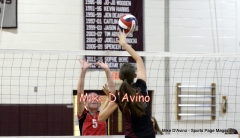 CIAC Girls Volleyball Focused on Farmington 3 vs. Conard 0 - Photo# (15)