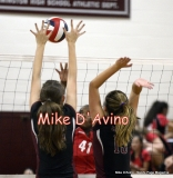 CIAC Girls Volleyball Focused on Farmington 3 vs. Conard 0 - Photo# (16)