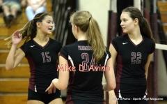 CIAC Girls Volleyball Focused on Farmington 3 vs. Conard 0 - Photo# (86)