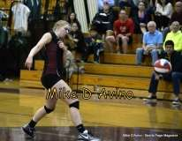 Girls Volleyball Focused on Farmington vs. Maloney - Photo # (39)