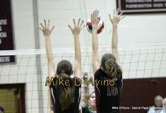Girls Volleyball Focused on Farmington vs. Maloney - Photo # (49)