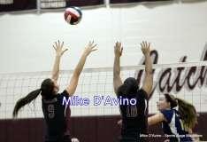 CIAC Girls Volleyball - Focused on Farmington vs. Simsbury - Photo # (127)