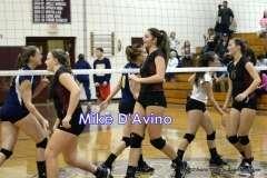 CIAC Girls Volleyball - Focused on Farmington vs. Simsbury - Photo # (13)
