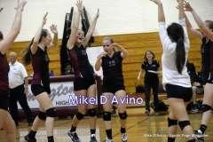 CIAC Girls Volleyball - Focused on Farmington vs. Simsbury - Photo # (140)