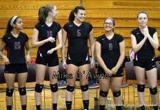 CIAC Girls Volleyball - Focused on Farmington vs. Simsbury Pregame - Photo # (109)