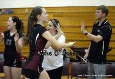 CIAC Girls Volleyball - Focused on Farmington vs. Simsbury Pregame - Photo # (119)