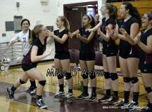 CIAC Girls Volleyball - Focused on Farmington vs. Simsbury Pregame - Photo # (120)