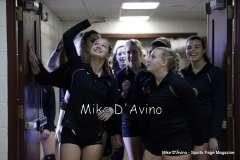 CIAC Girls Volleyball - Focused on Farmington vs. Simsbury Pregame - Photo # (2)