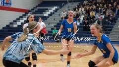 CIAC Girls Volleyball NVL Finals - #1 Seymour 3 vs. #2 Torrington 0 (107)