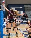 CIAC Girls Volleyball NVL Finals - #1 Seymour 3 vs. #2 Torrington 0 (154)