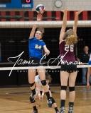 CIAC Girls Volleyball NVL Finals - #1 Seymour 3 vs. #2 Torrington 0 (164)