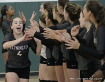 CIAC Girls Volleyball; #4 Guilford 3 vs #5 Farmington 0, Photo 230